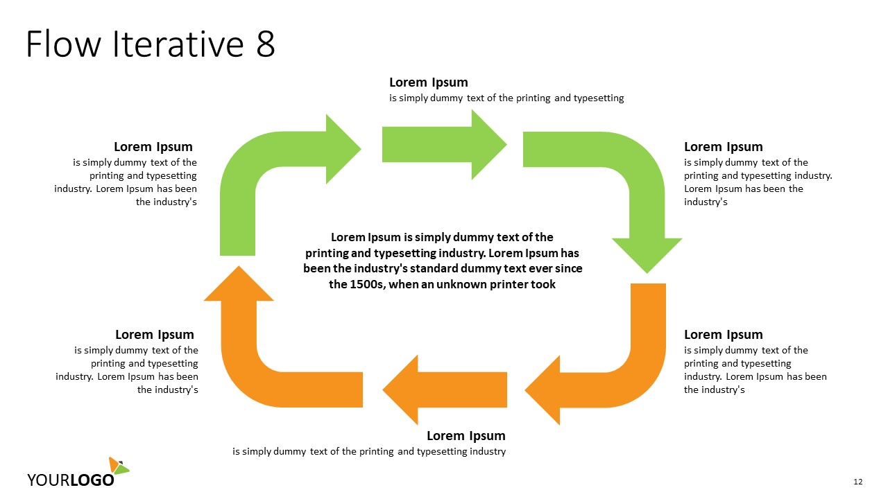 Circular Flow Iterative Process U2013 Lucidchart Manual Guide