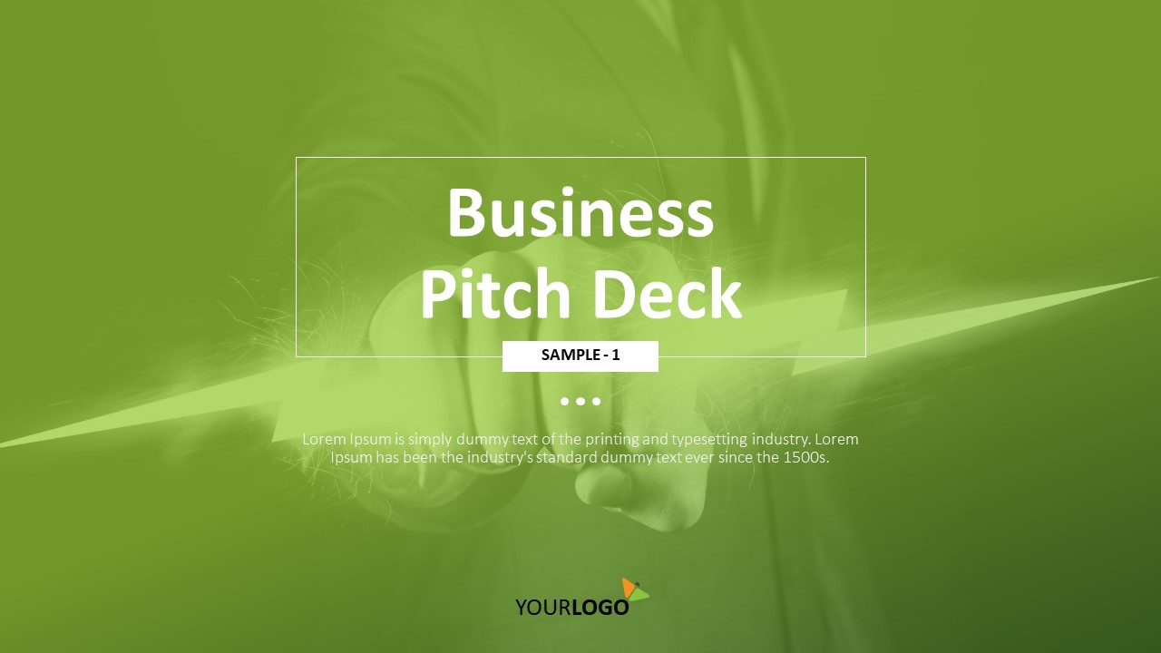 Explosive Business Pitch Deck Powerpoint Template Ad Pitch